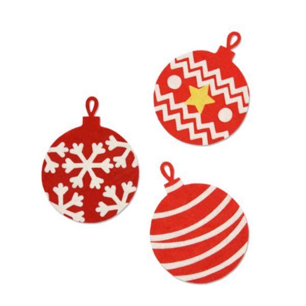 Palline Di Natale Immagini.Fustella Sizzix Bigz Palline Di Natale 663231