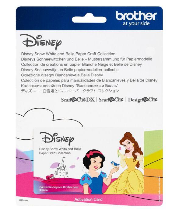 Collezione Disegni Disney Biancaneve E Belle Scanncut