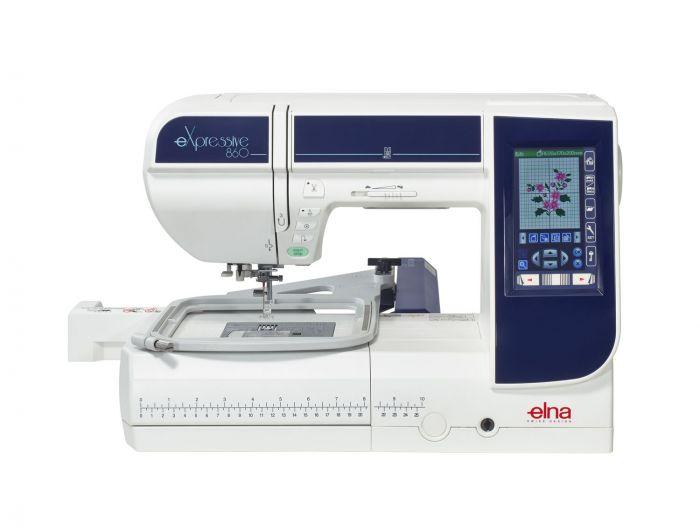 Macchina per cucire e ricamare elna expressive macchine cucire