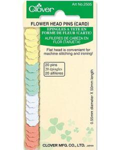 Spilli con testa a fiore Clover 0,55 mm