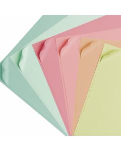 Set 24 fogli di cartoncino sottile colori sorbetto Cricut - 30,5 x 30,5 cm