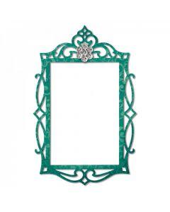 """Fustella Sizzix Thinlits """"Cornice, rettangolo decorato"""" - 658948"""