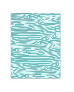 "Fustella Sizzix Embossing Folder ""Venatura in legno #3"" - 660408"