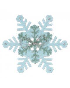 """Fustella Sizzix Bigz L """"Fiocchi di neve"""" - 661543"""
