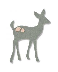 """Fustella Sizzix """"Cerbiatto"""" - 661694"""