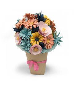 """Fustella Sizzix Bigz L """"Bouquet di fiori"""" - 661988"""