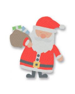 "Fustella Sizzix Bigz L ""Babbo Natale e regali"" - 662329"