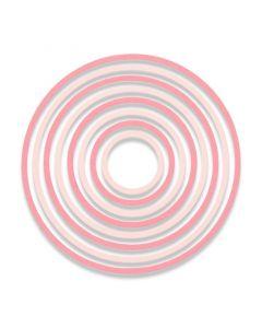 """Fustella Sizzix Thinlits """"Cerchi concentrici"""" - 662543"""