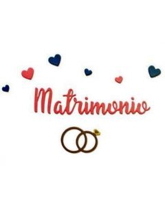 "Fustella Sizzix Thinlits ""Matrimonio"" - 662626"