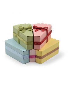 """Fustella Sizzix Bigz Plus """"Bomboniera, scatola fetta di torta"""" - 662631"""