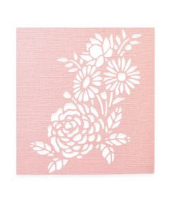 "Fustella Sizzix Thinlits ""Stencil botanico"" - 662862"