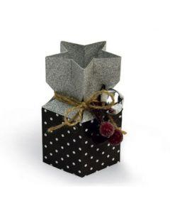 "Fustella Sizzix Bigz L ""Scatolina natalizia"" - 662868"