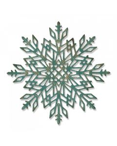 "Fustella Sizzix Thinlits ""Fiocco di neve #2"" - 663106"