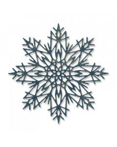 "Fustella Sizzix Thinlits ""Fiocco di neve #3"" - 663114"