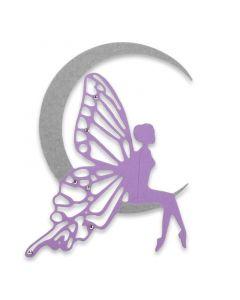 "Fustella Sizzix Thinlits ""Fata della luna"" - 663369"