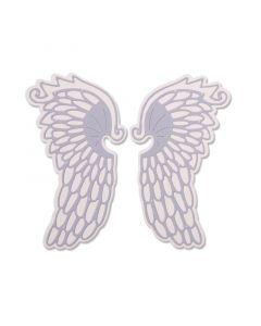 """Fustella Sizzix Thinlits """"Ali di angelo"""" - 663418"""