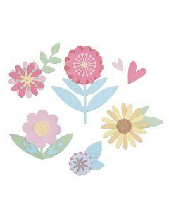"Fustella Sizzix Thinlits ""Set floreale"" - 663459"