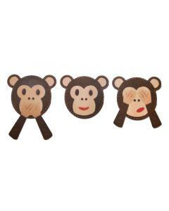 """Fustella Sizzix Bigz """"Emoji scimmietta"""" - 663487"""