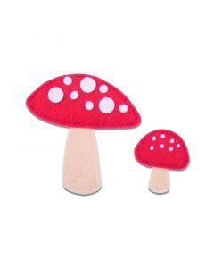"Fustella Sizzix Bigz ""Funghi"" - 663494"
