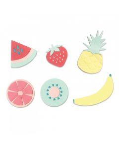 "Fustella Sizzix Thinlits ""Frutta estiva"" - 663597"