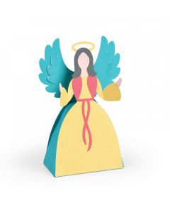 "Fustella Sizzix Bigz L ""Scatola angelo"" - 663663"