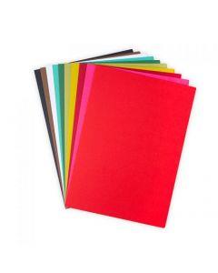 Set 60 fogli di cartoncino formato A4 - Colori festivi