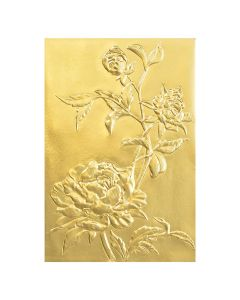 "Fustella Sizzix Embossing Folder 3D ""Rose"" - 664189"