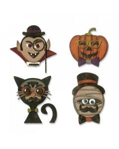 "Fustella Sizzix Thinlits ""Halloween hipster"" - 664206"