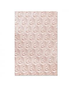 "Fustella Sizzix Embossing Folder 3D ""Trama geometrica"" - 664425"