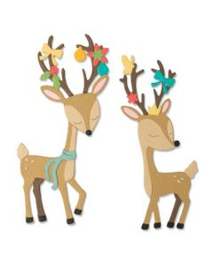 "Fustella Sizzix Thinlits ""Renna natalizia"" - 664448"