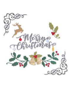 "Fustella Sizzix Thinlits ""Elementi festivi"" - 664706"