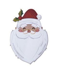 """Fustella Sizzix Thinlits """"Il desiderio di Babbo Natale colorize"""" - 664745"""