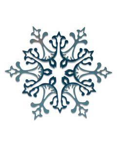 "Fustella Sizzix Thinlits ""Fiocco di neve splendido"" - 664749"