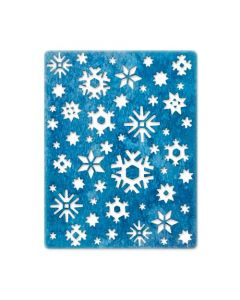 """Fustella Sizzix Thinlits """"Fiocchi di neve, Artico"""" - 664967"""