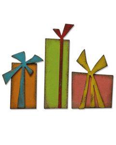 "Fustella Sizzix Bigz ""Pacchi regalo"" - 664973"