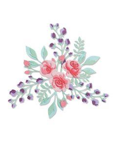"Fustella Sizzix Thinlits ""Intreccio floreale #2"" - 665083"