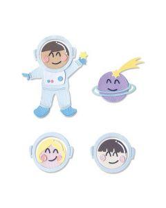 "Fustella Sizzix Thinlits ""Astronauta"" 665090"