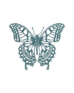 """Fustella Sizzix Thinlits """"Farfalla in prospettiva"""" - 665201"""