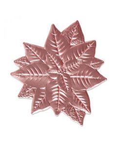 """Fustella Sizzix Impresslits 3D (Thinlits + Embossing) """"Stella di Natale"""" - 665354"""