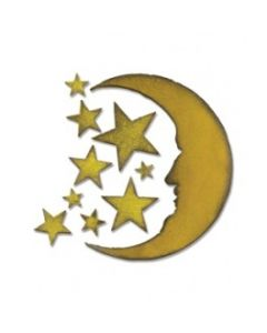 "Fustella Sizzix ""Luna e Stelle"" - 658716"