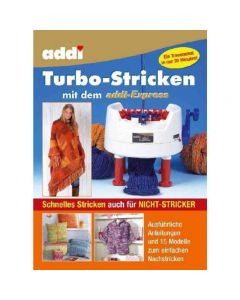 Libro per mulinetto addi-Express 22 aghi (Turbo-Knitting)