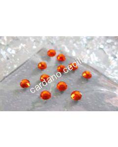 Strass Arancio da 3 e 4 mm