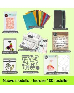 Sizzix Big Shot Plus formato A4 Starter kit super-maxi di Cardano Cecilia
