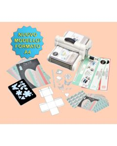 Sizzix Big shot Plus formato A4 Starter kit - 661546