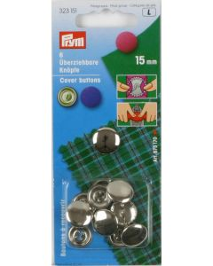 Bottoni da ricoprire 15 mm metallo Prym