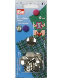 Bottoni da ricoprire 19 mm metallo Prym
