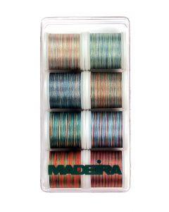 Box 8 fili ricamo Astro Color Madeira