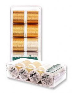 Box 8 fili ricamo Metallic Heavy Metal Madeira