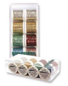 Box 8 fili ricamo Metallic Spectra Madeira