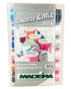 Box 18 filati Madeira Rayon 40 mt. 1000